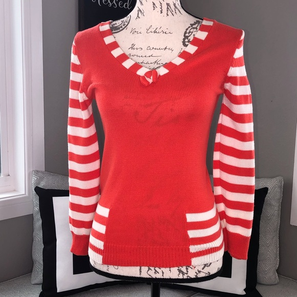 Marc Jacobs Sweaters - Marc Jacobs Striped Cashmere Blend Sweater.